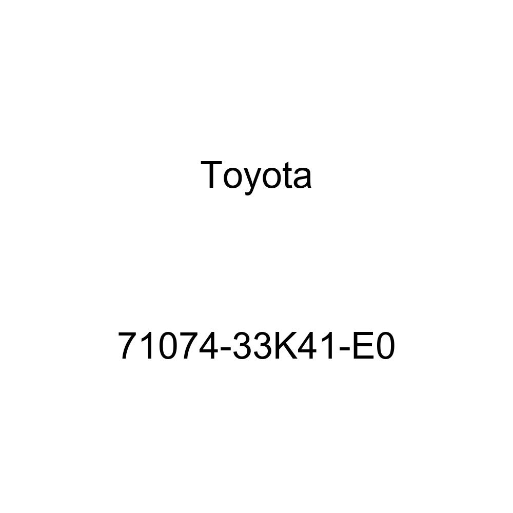 TOYOTA Genuine 71074-33K41-E0 Seat Back Cover