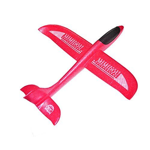 Epp Foam Plane - New Aerobatic Glider Plane 2 flight mode styrofoam airplane throwing foam aircraft outdoor sports flying toy for kids as gift,by MIMIDOU