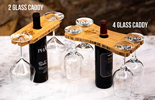 Wine glass display Wine bottle and glasses caddy Wine Glass /& Bottle Display Board