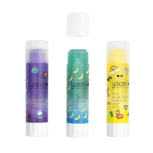 Yoobi 3 Pack Glue Sticks