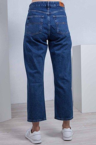 28 Alta Tommy Dritti A Taglia Vita Classics Jeans Donna 1990 6wpBz