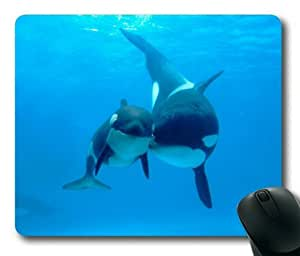 Lilyshouse Dolphins in the Deep Sea 003 Rectangle Mouse Pad by icecream design