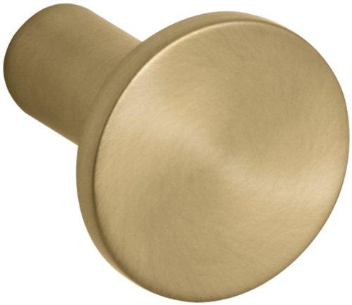 Kohler Cabinet Knobs - Kohler K-14484-BGD Purist/Stillness Cabinet Knob, Vibrant Moderne Brushed Gold