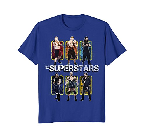 WWE Graphic T-Shirt Featuring Wrestle Superstars by WWE