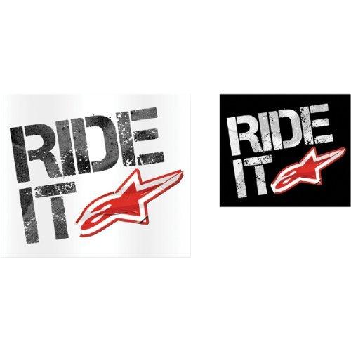 Alpinestars Ride It Sticker - 4in. -