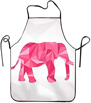 Ljkhas232 Polygonal Elephant Vector Kitchen Cooking Apron For ...