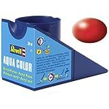 Revell - Su Bazlı Maket Boyası Ateş Kırmızısı İpek 18 Ml (36330)