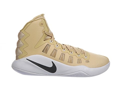 Nike Men's Hyperdunk 2016 Team Gold/Dark Grey/White Synthetic Basketball Shoes 12.5 M US