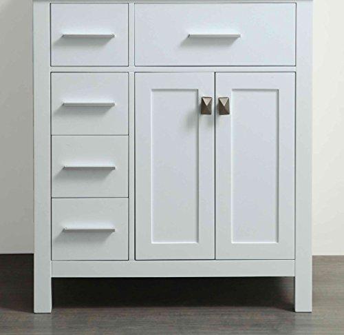 Bosconi Main Cabinet, 29″/SB-R2104WHMC, White/SB-R2104WHMC