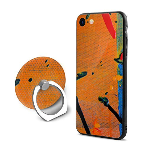 Fashion iPhone 8 Case iPhone 7 Case Expressionism Abstract Painting Acrylic Paint Scratch Proof Shock Absorption Mobile Phone Shell 4.7-inch