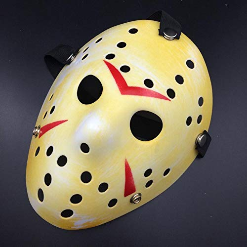 Party Mask - Creative Party Masks Jason Vs Friday The 13th Horror Hockey Cosplay Costume Halloween Killer Mask 0d - Girls Egypt Face Pack Couple Favor Expensive Kids Gold Party Masquerade Blue