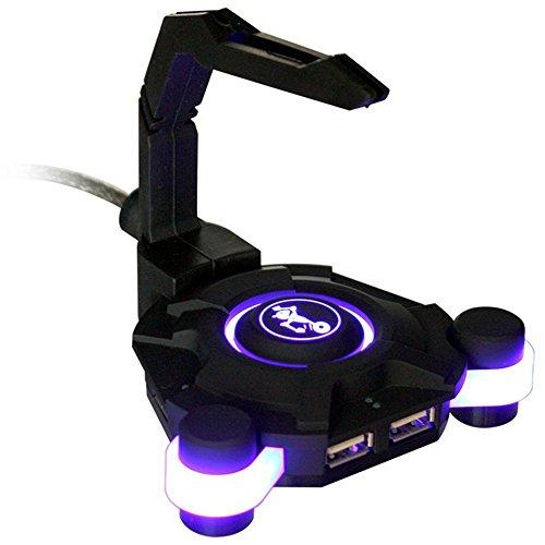TekNmotion Nibiru Scorpion Gaming USB HUB - 4-Port Illuminated USB Hub Extends your USB Port Access by TekNMotion Nibiru Scorpion Illuminated