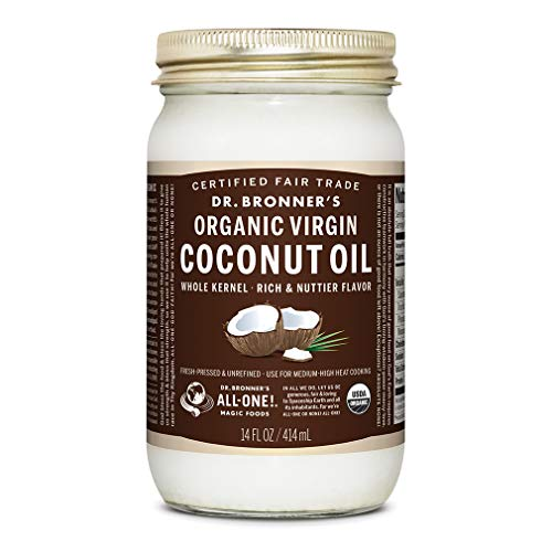 Dr Bronners Organic Coconut Unrefined