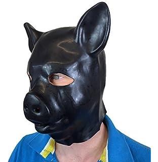 Dog Bone Comedy Latex Half Face Mask Costume Fancy Dress Party