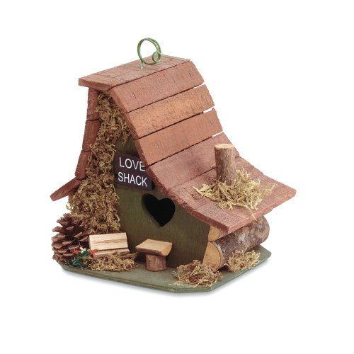 VERDUGO GIFT CO Birdhouse, Love Shack