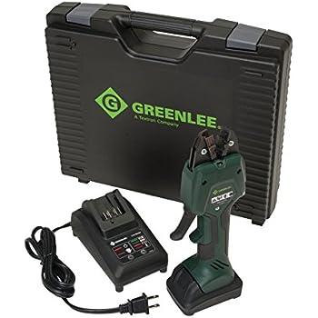Greenlee Ek50ml13811 Micro Crimping Tool Kit With 13 8mm