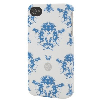 (BluDot Moose Toile Cell Phone Case for iPhone 4/4S - Multicolor (CO7769))