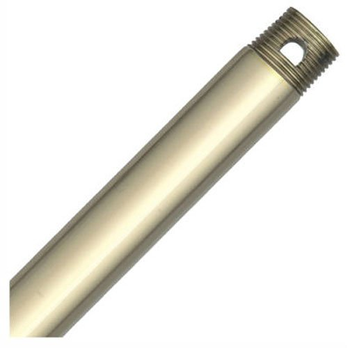 Hunter 22713 12-Inch Downrod, Hunter Bright Brass - Hunter Ceiling Brass Bright Fan