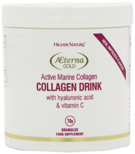 Higher Nature Aeterna Gold Collagen Drink Powder 70g For Sale