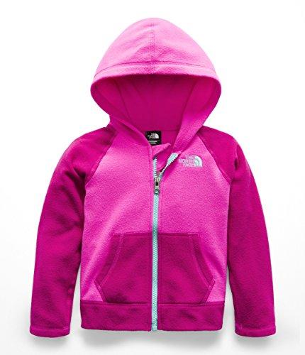 The North Face Todd Glacier Full Zip Hoodie - Azalea Pink - (Toddler Full Zip Jacket)