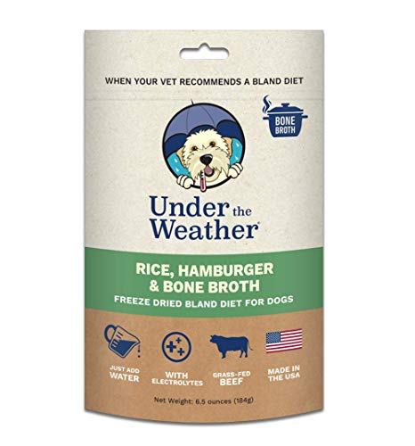 Under the Weather Pets All Natural Freeze Dried Dog Food with Bone Broth for Sick Dogs & Dogs with Sensitive Stomachs…