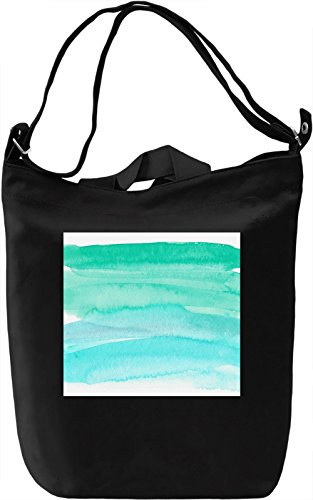Watercolor Print Borsa Giornaliera Canvas Canvas Day Bag| 100% Premium Cotton Canvas| DTG Printing|