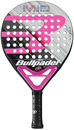 Bullpadel Kata Light 2019 - Pala de pádel, Mujer, Negro/Rosa, 360