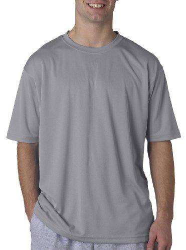 UltraClub Herren T-Shirt Gr. X-Small, grau