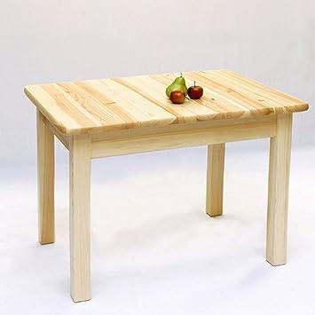 Esstisch Tisch Ausziehbar 9025x70 Massiv Kiefer Natur Lackiert
