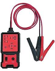 Mabor Testador eletrônico de relé automotivo de 12V, ferramentas de verificação de diagnóstico de bateria de carro com clipes, kit automotivo para reparo de automóveis
