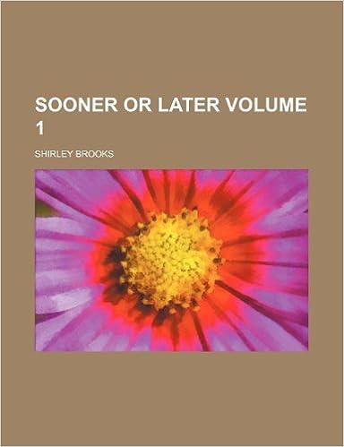 Book Sooner or later Volume 1