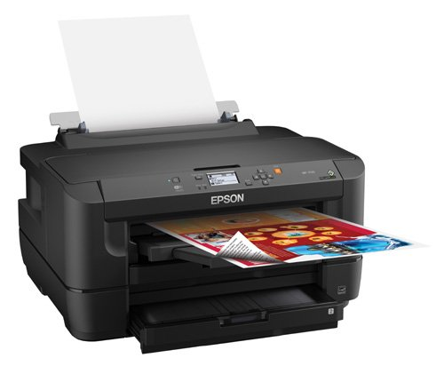 Epson WorkForce WF-7110 Wireless and WiFi Direct, Wide-Format Color Inkjet Printer, 2-Sided Auto Duplex. Prints from Tablet/Smartphone. AirPrint Compatible. (C11CC99201) by Epson (Image #2)