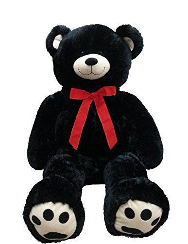 FHC Jumbo Teddy Bear Black (Large Holiday Bear)
