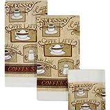 House Blend cafe Latte Dish Towels & Cloths - Set of 6