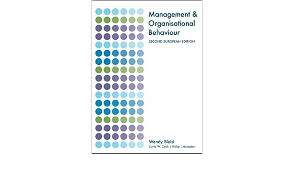 Organisational Behaviour Pdf