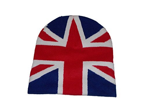 Great Britain Costume For Kids (Great Britain Uk English Union Jack Flag Beanie)
