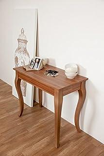 Tavolo Consolle allungabile L130-Colore Noce: Amazon.it: Casa e cucina