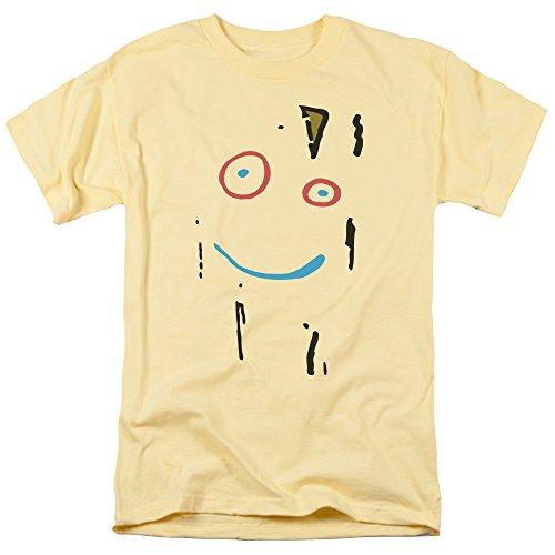 Ed EDD N Eddy Plank Face Adult Regular Fit T-Shirt (Plank Off Of Ed Edd And Eddy)