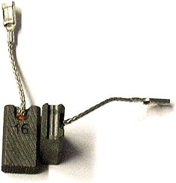 escobillas de carb/ón GOMES GWS 9 125 CE compatible Bosch GWS 9 125 C