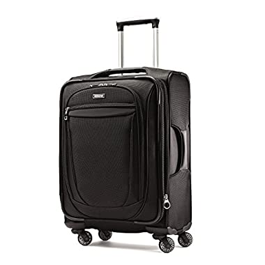 American Tourister XLT 21  Spinner Luggage Black