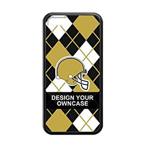 For NFL Fans Customize Your Like photo, design or idol player here, NFL New Orleans Saints iPhone 5C TPU case