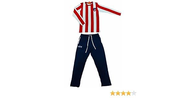 Atletico de Madrid AM03031 - Pijama, Rojo/Azul, M: Amazon.es: Ropa y accesorios