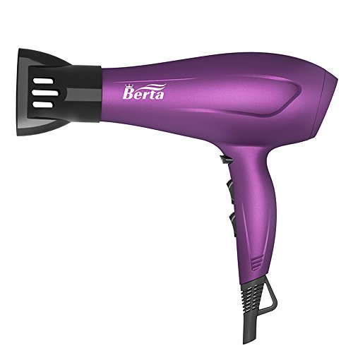 BERTA 1875 Watts Negative Ionic Blow Dryer Soft Touch Finish Deal (Large Image)