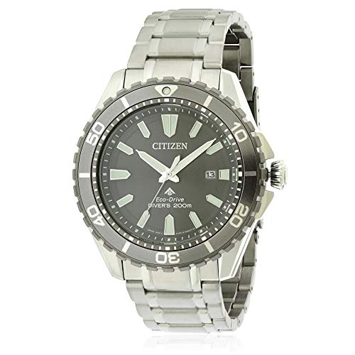- Citizen Promaster Diver Grey Dial Stainless Steel Men's Watch BN0198-56H
