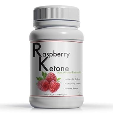 Daily Nutrition Raspberry Ketone Premium Quality - 250 mg 180 Capsules