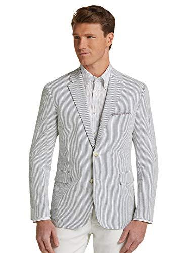 717f9d9074 ... 1905 Collection Tailored Fit Seersucker Stripe Soft Jacket. Asin:  B07QZP2QP6. Bestselling Mens Suit Separates