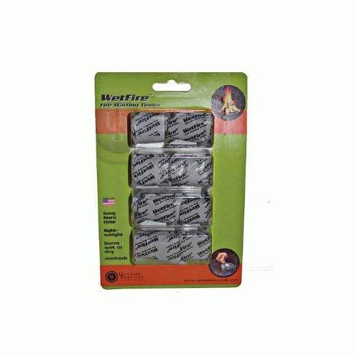 UST WetFire Tinder, 8-Pack (Stove Maintenance Kit)