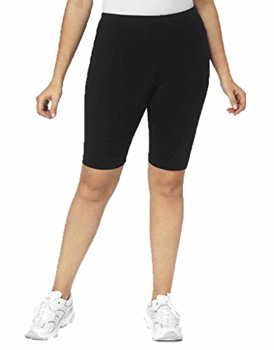 A Big Attitude 9557 Bike Short 2x Black
