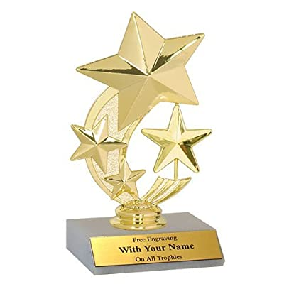 "5"" Star Spinner Trophies: Toys & Games"