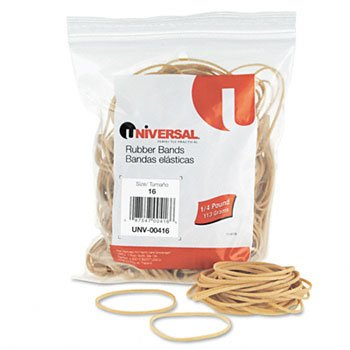 Universal 00416 16-Size Rubber Bands